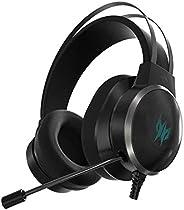 Acer Predator Galea 500 Wired Gaming Headset (Over-The-Head/TrueHarmony 3D Soundscape/Bio-Cellulose Membrane D