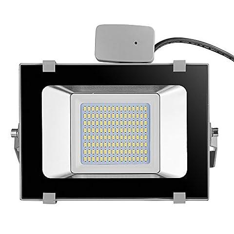 Viugreum® Projecteur LED 50W avec Détécteur de Mouvement IP65 Etanche