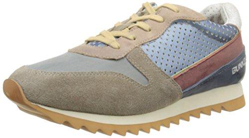 BUNKERSneaker - Scarpe da Ginnastica Basse Uomo , grigio (grigio), 43 EU