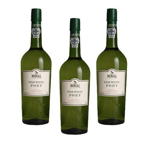 Portwein Noval Fine White - Dessertwein- 3 Flaschen