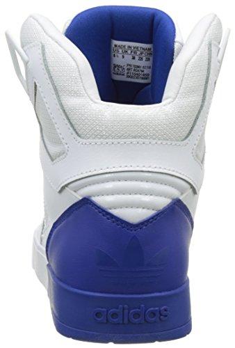 adidas Zestra, Baskets Hautes Femme Blanc (Ftwr White/Ftwr White/Collegiate Royal)