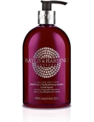 Baylis & Harding PLC Mosaic Savon Liquide pour Main Midnight Pomegranate/Elderflower 500 ml
