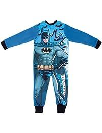 Pijama para niños con licencia de Marvel de forro polar todo en uno