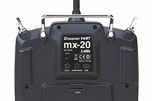 Graupner Emisor mx-20 HoTT, 12 canales ES (33124.16.ES)