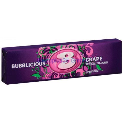 bubblicious-grape-5-stck-40g