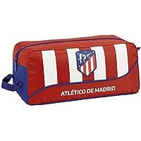 Atletico De Madrid 811845440 2018 Bolsa para Zapatos 34 cm, Rojo