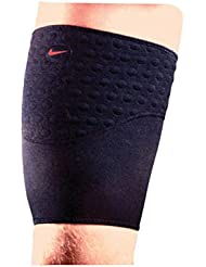 Nike Compression Thigh Wrap Stomatex Support Mens Size X-Large Black