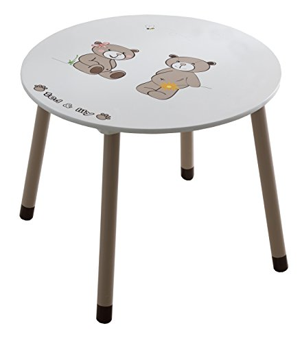 demeyere-234550-ted-lily-table-rond-blanc-beige