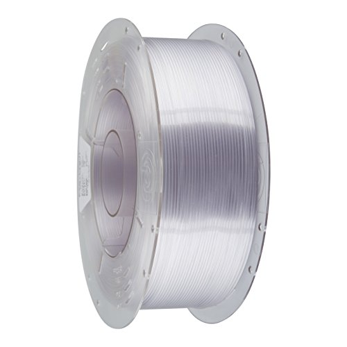 PrimaCreator EasyPrint 3D Printer Filament - PETG - 1 75mm - 1 kg (2 2 lbs)  - Clear