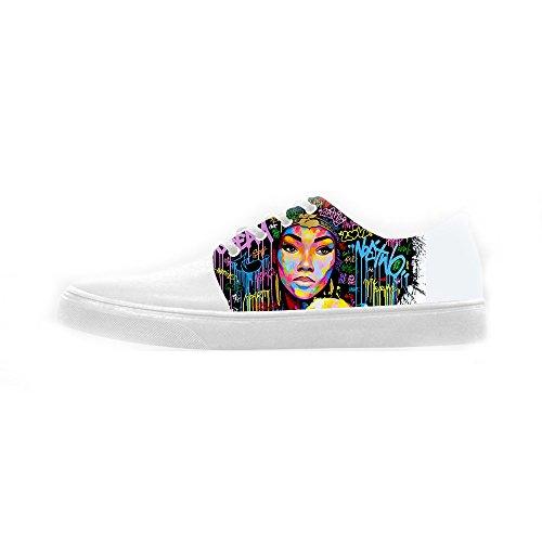 Dalliy African woman Women's canvas Footwear Sneakers Shoes Chaussures de toile Baskets E