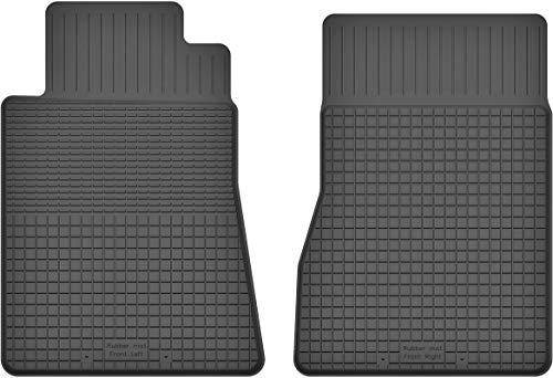 Fußmatten Gummimatten Winter Auto-matten Gummi hoher Rand 2-teilig vorn