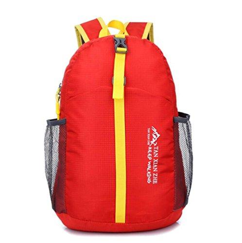 Wmshpeds Outdoor alpinismo viaggio borsa in nylon impermeabile spalla di piegatura sacco della confezione A