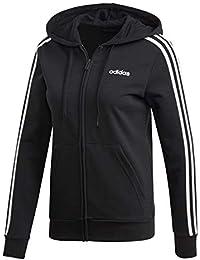 purchase cheap a1f37 05e2f adidas Damen W E 3s Fz Hd Sweatshirt