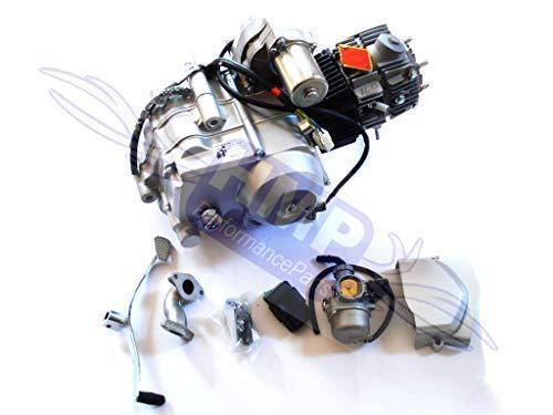 HMParts Motor Set 110ccm halbautomatik R0123 Anlasser Oben Quad RC ATV