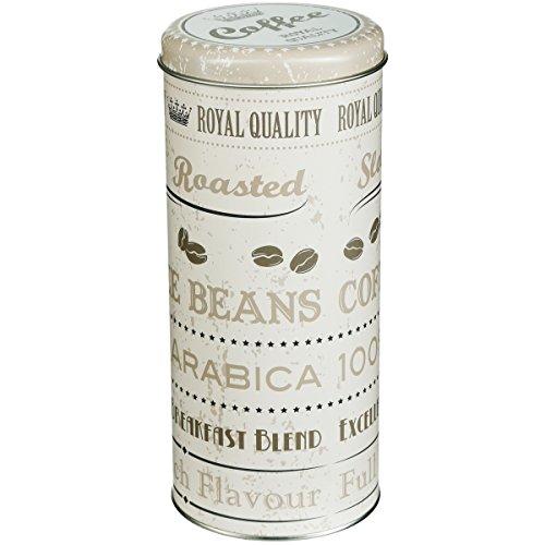 Promobo - Boite A Capsules Dosette Senseo Café Design Cream Vintage Royal Quality
