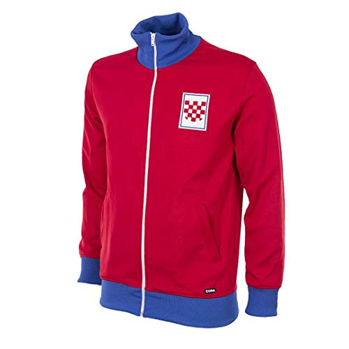 Copa Kroatien Retro Trainingsjacke 1992 rot, XL