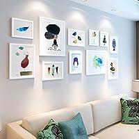 Marcos de fotos Accesorios para el hogar Dormitorio simple pared creativa de la foto de la