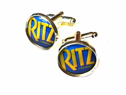 ritz-cracker-chrome-cufflinks