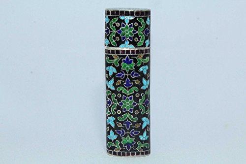 rajasthan-gems-handmade-enamel-cloisonne-925-sterling-hallmarked-silver-cigarette-vesta-case