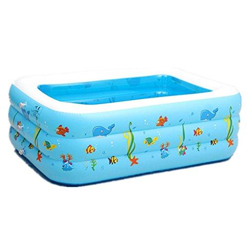 Mustbe strong Kinder Baby Pool aufblasbaren Pool aufblasbare Umweltschutz PVC Blase Unten Schwimmbad , 120for Outdoor
