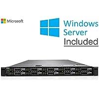 """DELL POWEREDGE R620 10 x SFF Rail Kit compreso 2xIntel Xeon DecaCore Processor E5-2650L 64GB DDR3ECC Reg, 2xHDD 600GB 2,5"""", H710 Raid Ctrl, Rack 1U, Windows Server 2019(Ricondizionato Certificato)"""