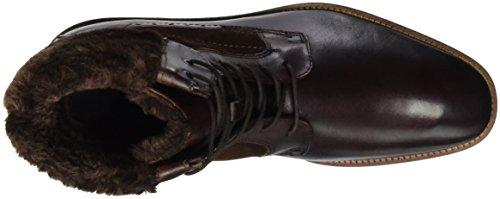 Daniel Hechter 811158501100, Bottes mi-hauteur avec doublure chaude homme Marron - Braun (Braun 6000)