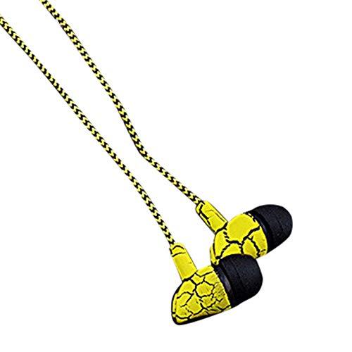 LRWEY Headset, Kabelgebundener Kopfhörer 3,5 mm Crack-Kopfhörer mit Mikrofon-Freisprecheinrichtung, für iPhone, iPad, Samsung, Huawei,Tablet usw
