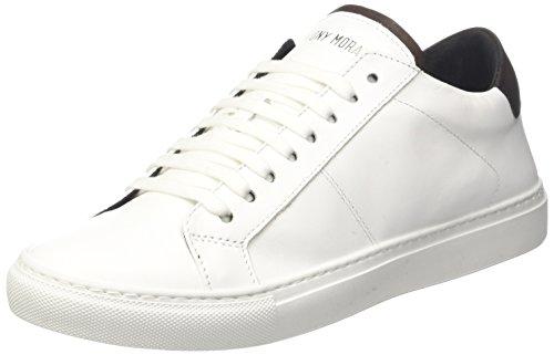 Antony Morato Mmfw00845-le300001, Chaussures de Gymnastique Homme Blanc Cassé (Bianco)