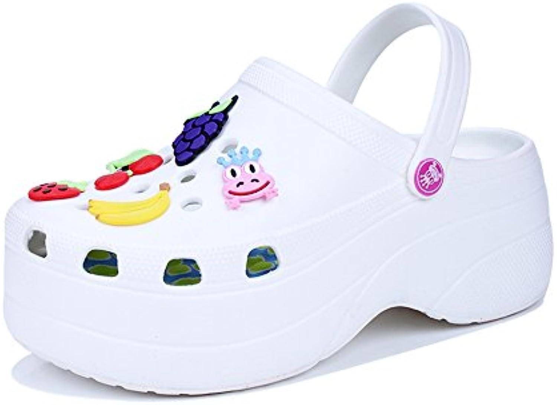Frauen Hausschuhe Garten Clogs Schuhe Sandalen Hausschuhe Frauen Plattform Mule Hausschuhe Größe 35-40 709885