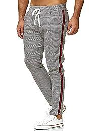 Redbridge Hommes Chino Slim Fit Rayé Casual Élastique Gym à Carreaux Mode  Pantalon 2537aa196c4