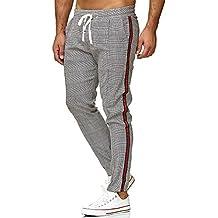 2d84180f7eeb Redbridge Hommes Chino Slim Fit Rayé Casual Élastique Gym à Carreaux Mode  Pantalon