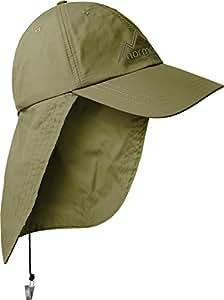 Safari Cap mit extra langem Nackenschutz Farbe Coyote