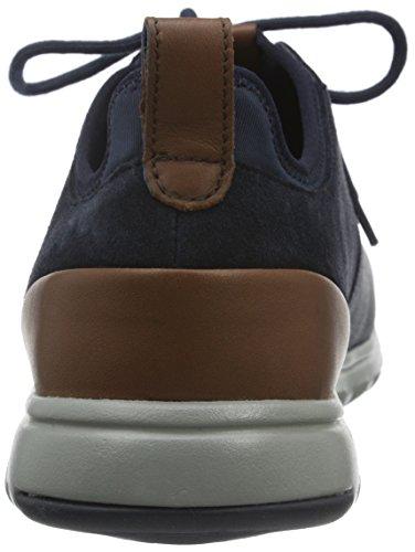 Geox U Xunday 2fit A U640da022hm, Baskets Basses Homme Blau (NAVYC4002)