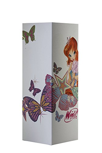 W-Lamp Wl601Win Winx Bloom & Friends Lampada Arredo, Carta, Crema, 11 X 11 X 32 cm