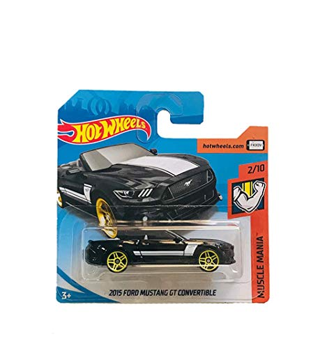 Hot Wheels 2015 Ford Mustang GT Convertible Muscle Mania 291/365