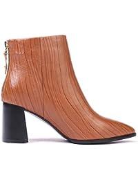 Zapatos Mujer Amazon Claro es Marron Para Cordones 40 FwnfXrq0n