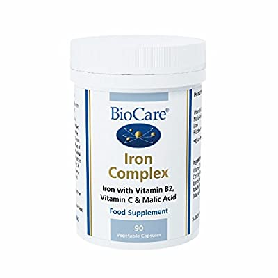 Biocare Iron Complex Vegetable - Pack of 90 Capsules by Biocare