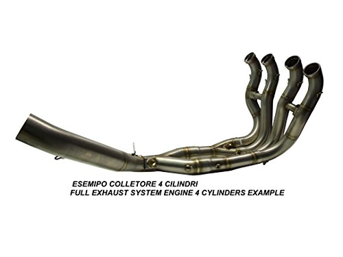 GPR Italia Exhaust Systems Scarico Decatalizzatore per Dominator NX 650 1988//01 Collettore Tubo Decatalizzatore