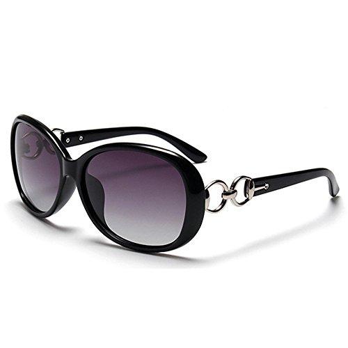 BLDEN Polarisierte Sonnenbrille Frauen, Mode Lässig Stil Sonnenbrille Oval Elegante UV 400 Schutz