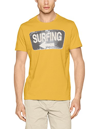 s.Oliver Herren T-Shirt Gelb (Mango 1520)