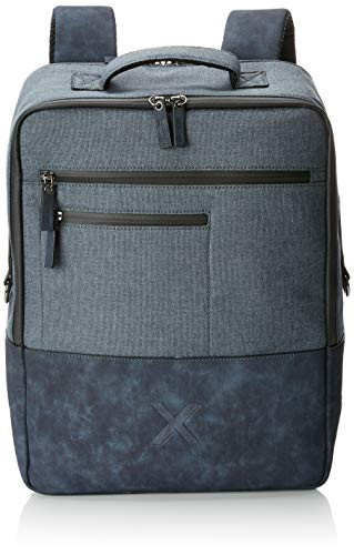 Munich Backpack City Casual, Mochila para Hombre, Azul (Navy), 13x41x31 cm (W x H x L)
