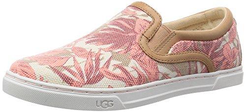 Ugg Australia Fierce Island Floral Femmes Toile Mocassin Tropical Blush
