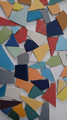 Fliesenbruch frostfest Mix bunt 3Kg Mosaik