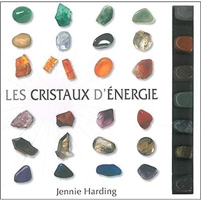 Les cristaux d'énergie - 7 cristaux + 1 livre explicatif