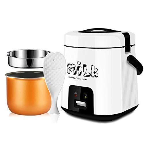 Reiskocher Smart Mini-Reiskocher, kleiner Multifunktions-Reiskocher, 1,8 l, geeignet für 1-3 Personen - für Studenten, Büroangestellte, Babynahrungsergänzungsmittel, tragbaren Reiskocher und Reiswärme (Kleine Japanische Reiskocher)