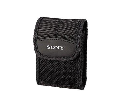 Sony LCS-CST custodia morbida da trasporto per fotocamere slim Cyber-shot serie W180, W210, W220, W270 - Colore: Nero
