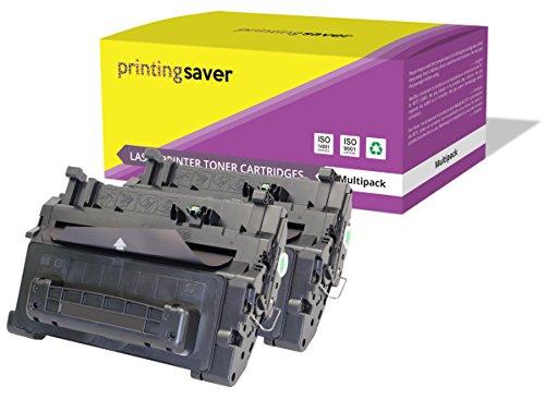 2X Printing Saver SCHWARZ Toner kompatibel für HP Laserjet P4014, P4014n, P4014dn, P4015, P4015n, P4015dn, P4015tn, P4015x, P4515, P4515n, P4515tn, P4515x, P4515xm drucker