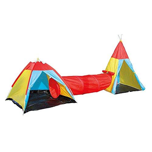 Preisvergleich Produktbild Legler 6980 - Zelt mit Verbindungstunnel