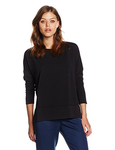 BOSS Orange Damen Sweatshirt Tersweat, Schwarz (Black 001), X-Large