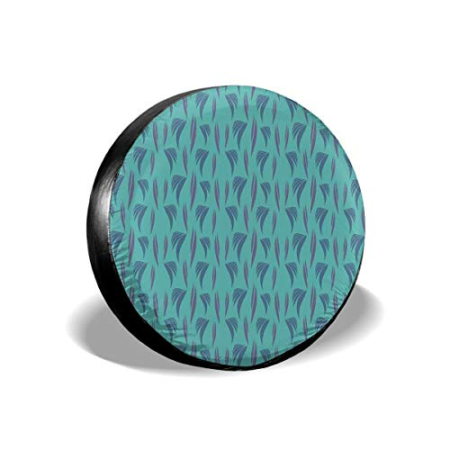 Usicapwear Tire Cover Tire Cover Wheel Covers,80s 90s Style Retro Memphis Pattern Funky and Hipster Design,for SUV Truck Camper Travel Trailer Accessories 17 inch Memphis Mustang